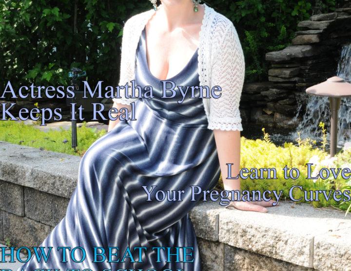 Celebrity Parents Magazine: Martha Byrne Issue