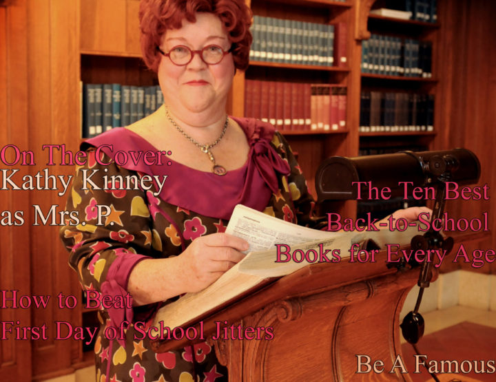 Celebrity Parents Magazine: Kathy Kinney (As Mrs. P) Issue
