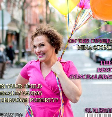 Celebrity Parents Magazine: Nina Stone