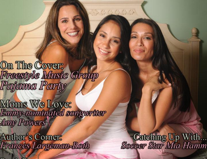 Celebrity Parents Magazine: Pajama Party Issue
