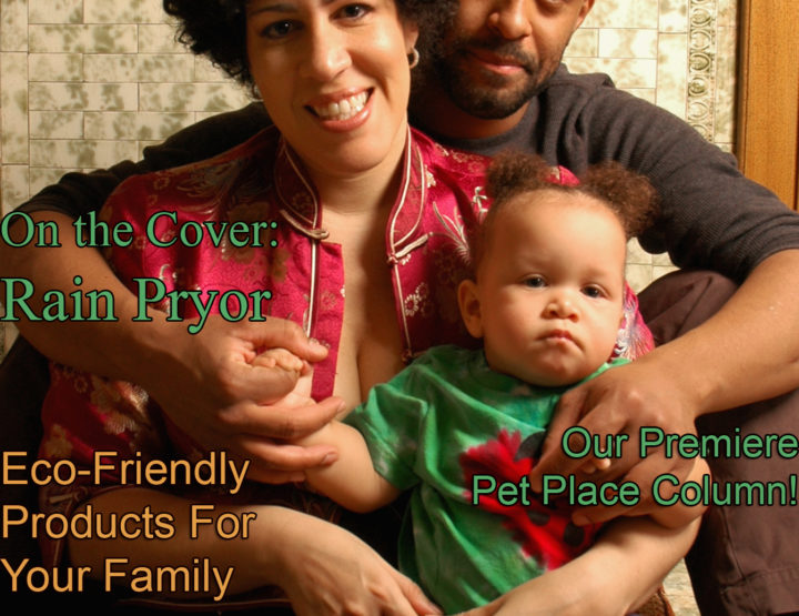 Celebrity Parents Magazine: Rain Pryor Issue