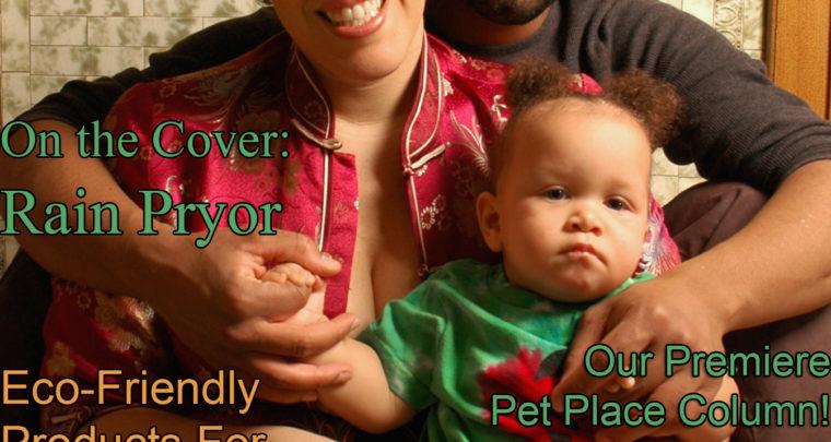 Celebrity Parents Magazine: Rain Pryor Issue