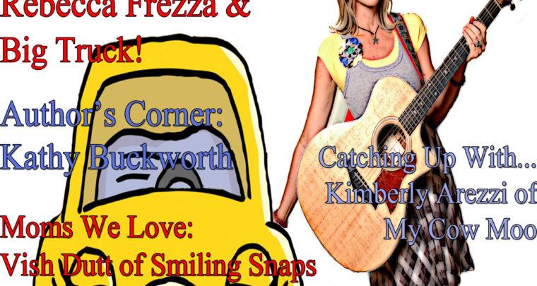 Celebrity Parents Magazine: Rebecca Frezza Issue