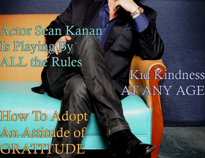 Celebrity Parents Magazine: Sean Kanan Issue