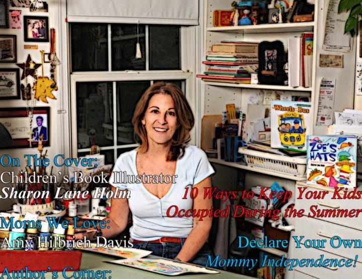 Celebrity Parents Magazine: Sharon Lane Holm