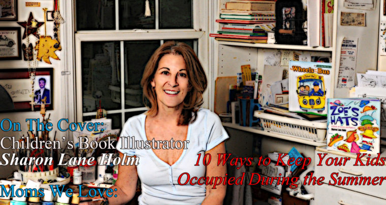 Celebrity Parents Magazine: Sharon Lane Holm Issue