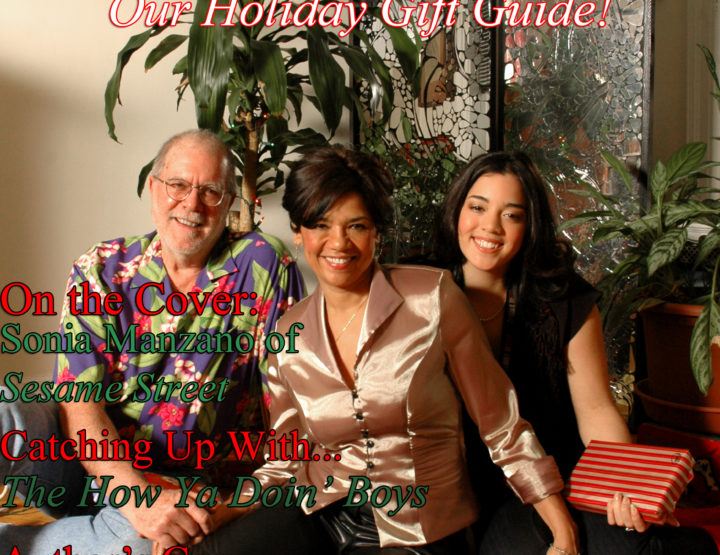 Celebrity Parents Magazine: Sonia Manzano Issue