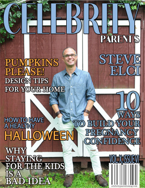 Celebrity Parents Magazine: Steve Elci Issue