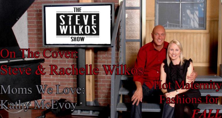 Celebrity Parents Magazine: Steve Wilkos Issue