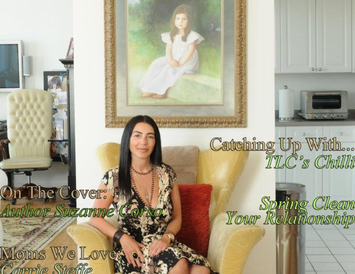 Celebrity Parents Magazine: Suzanne Corso Issue
