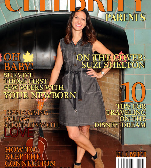 Celebrity Parents Magazine: Suzi Shelton Issue