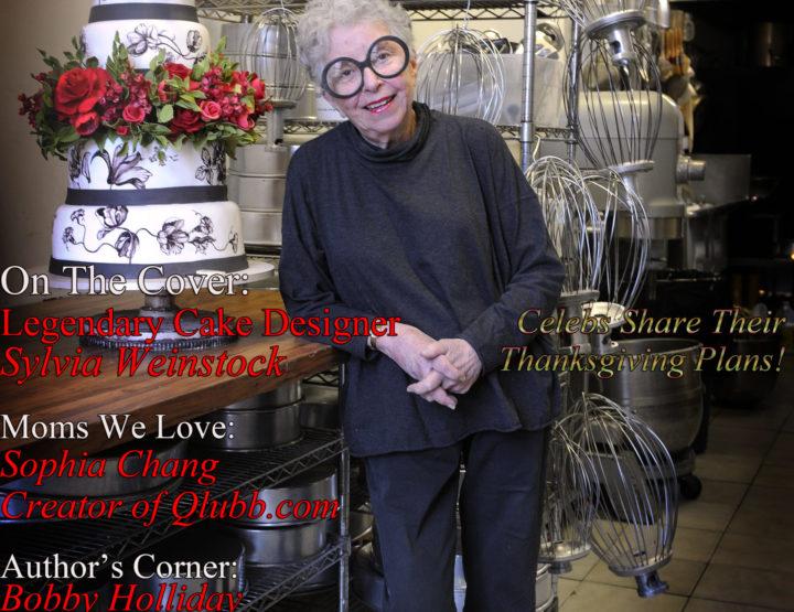 Celebrity Parents Magazine: Sylvia Weinstock Issue
