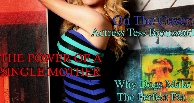 Celebrity Parents Magazine: Tess Broussard Issue