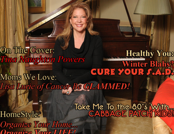 Celebrity Parents Magazine: Tina Naughton Powers