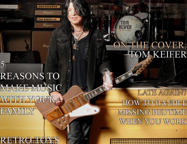 Celebrity Parents Magazine: Tom Keifer Issue