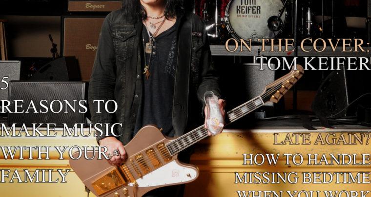 Celebrity Parents Magazine: Tom Keifer Issue
