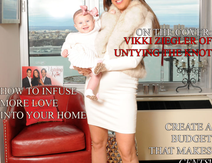 Celebrity Parents Magazine: Vikki Ziegler Issue