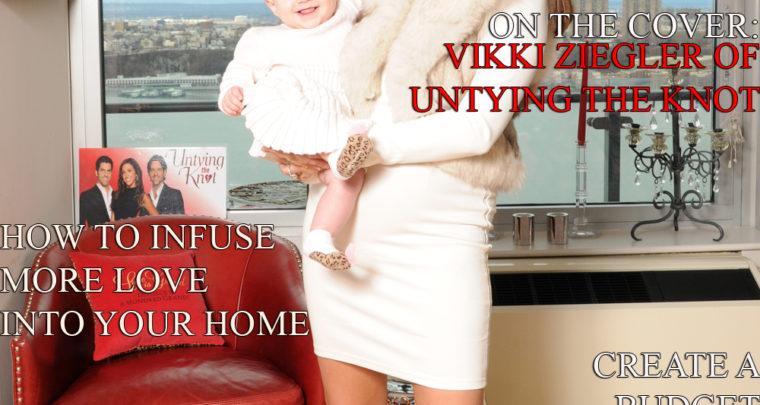 Celebrity Parents Magazine: Vikki Ziegler Issue