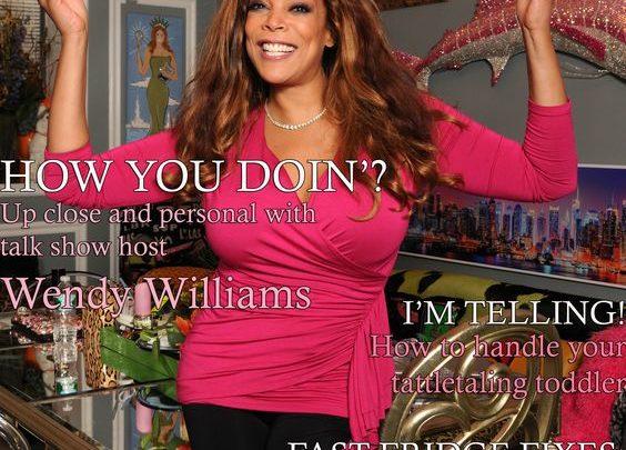 Celebrity Parents Magazine: Wendy Williams Issue