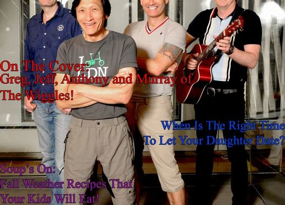 Celebrity Parents Magazine: The Wiggles Issue