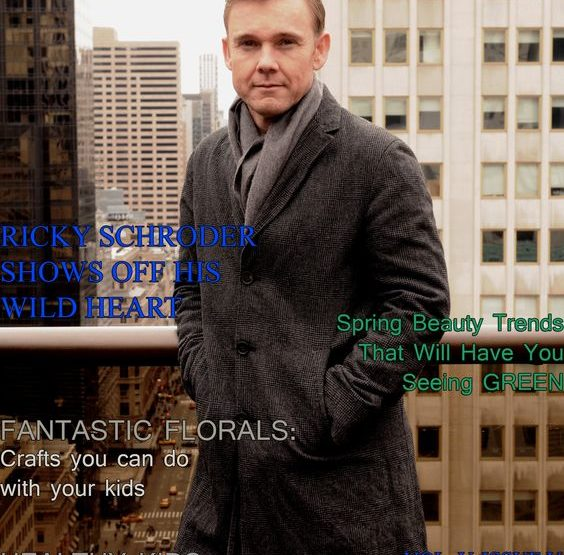 Celebrity Parents Magazine: Ricky Schroder Issue