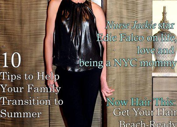 Celebrity Parents Magazine: Edie Falco Issue