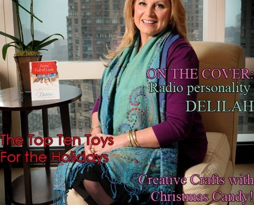 Celebrity Parents Magazine: Delilah Issue