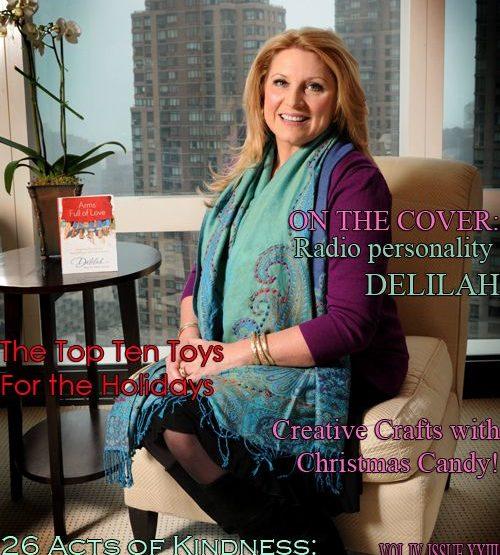 Celebrity Parents Magazine: Delilah Issue