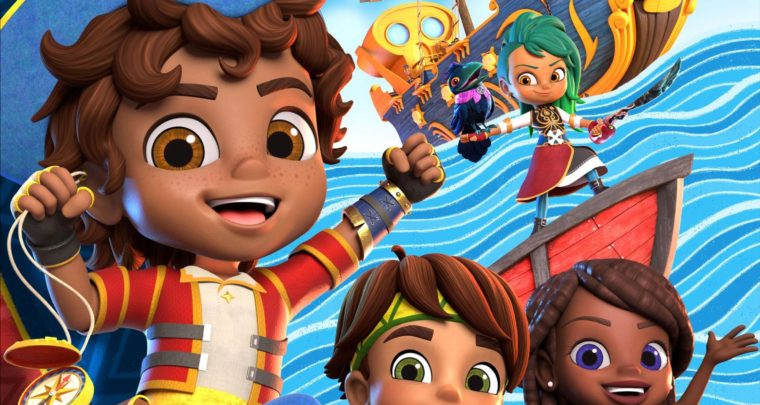 Nickelodeon's Brand-New Preschool Series Santiago of the Seas Sets Sail in October