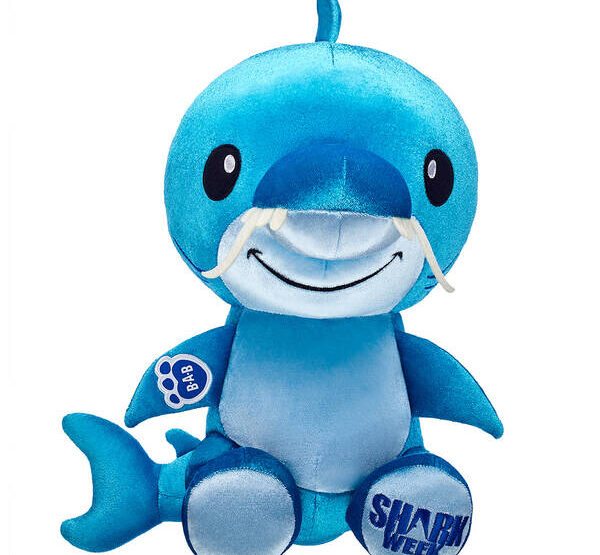 Build-A-Bear's Shark Week Plush Toys Are Fintastically Fun For Kids