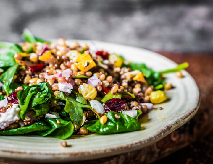 Red Quinoa Salad Recipe from Singer Bari Koral That's Delish And Easy