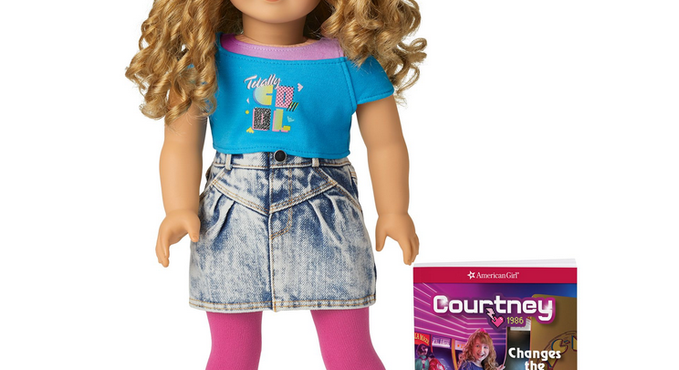 American Girl Doll Courtney Moore Is From The Totally Awesome 80s
