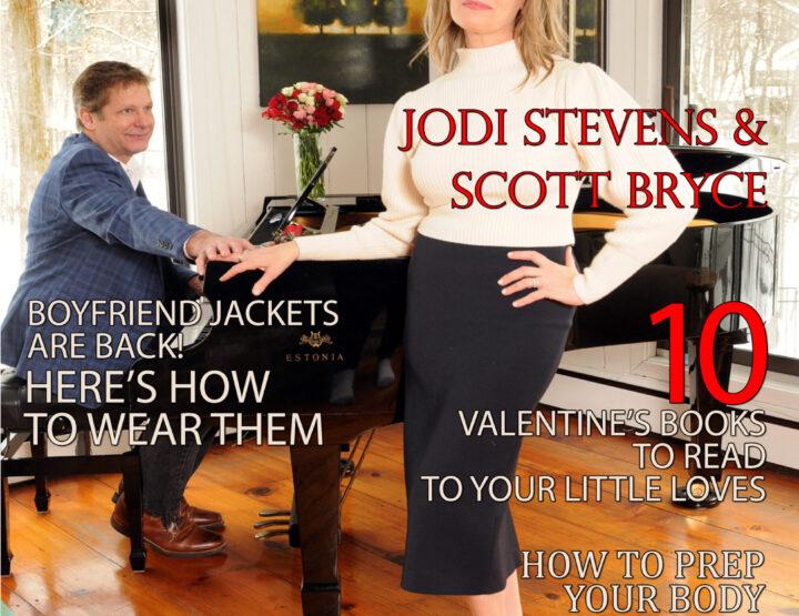 Celebrity Parents Magazine: Jodi Stevens & Scott Bryce Issue