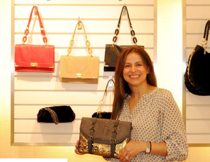 Designer Blanca Lesser of Olivia + Joy Explains The Importance Of A Good Handbag