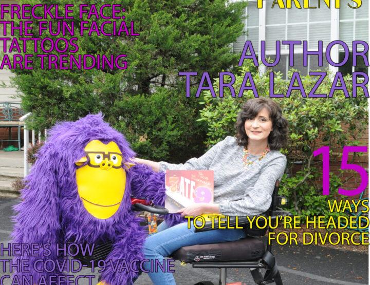 Celebrity Parents Magazine: Tara Lazar Issue