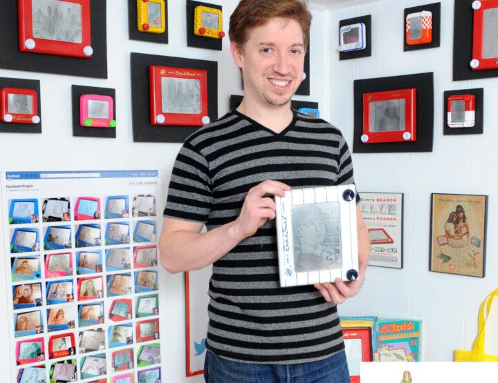 Celebrity Interview: Etch A Sketch Artist Bryan Lee Madden