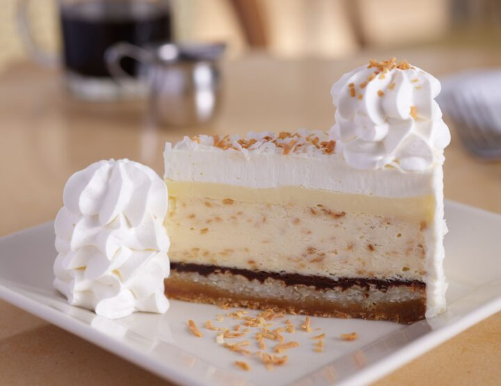 Cheesecake Factory Debuts New Coconut Cream Pie Cheesecake And It's *That* Good